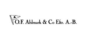 Logo: O.F. Ahlmark & Co Eftr. A.-B.